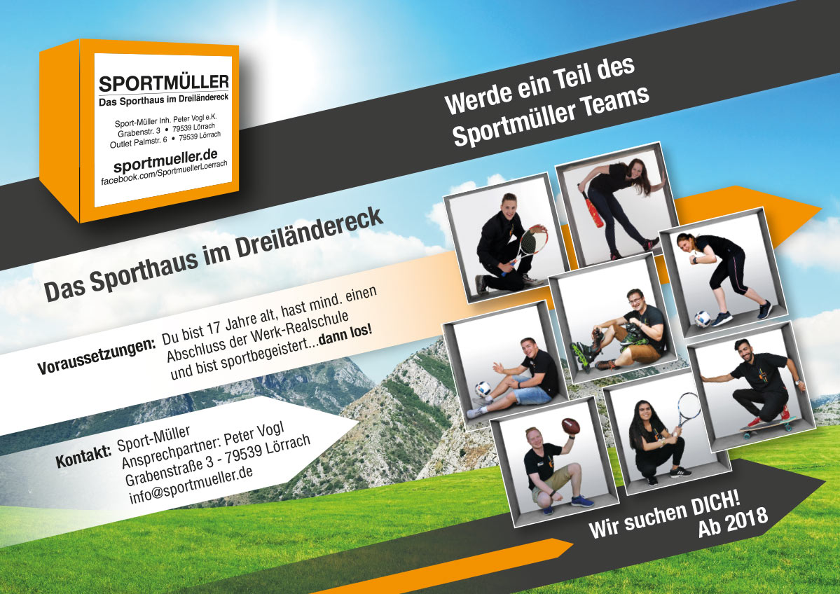 ausbildung bei sportmller - Muller Online Bewerbung
