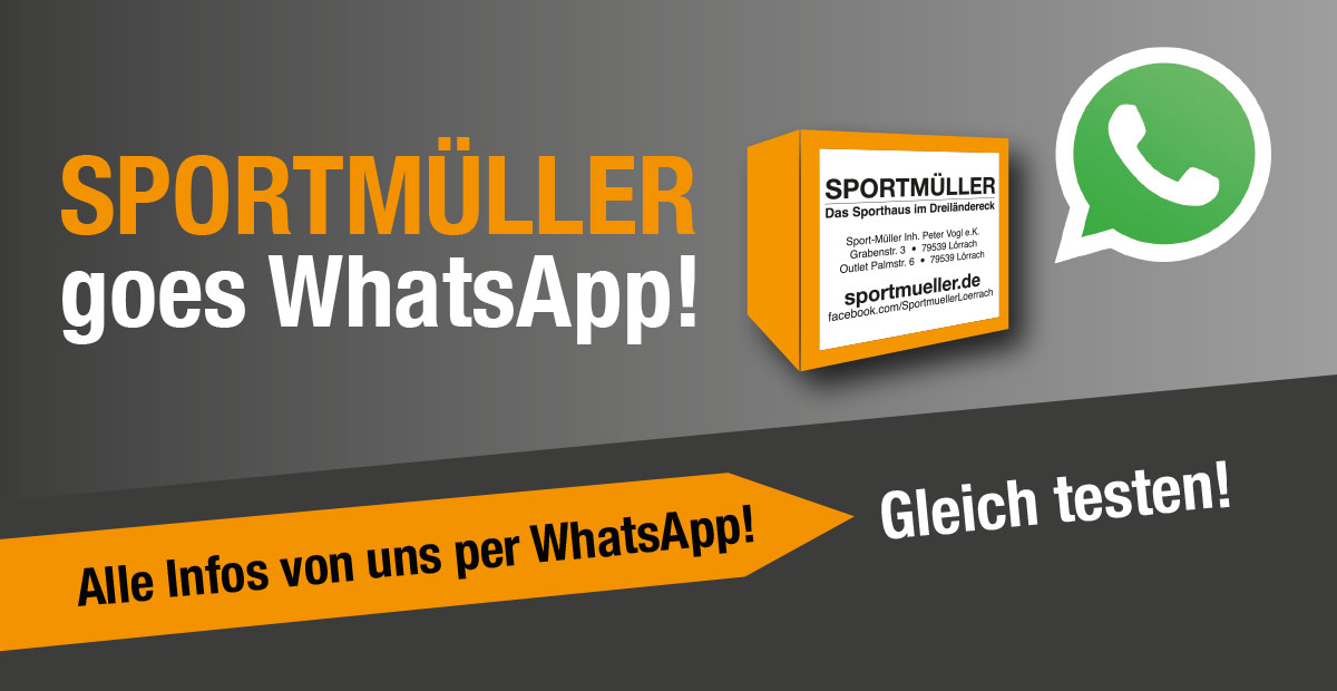 Sportmüller goes WhatsApp